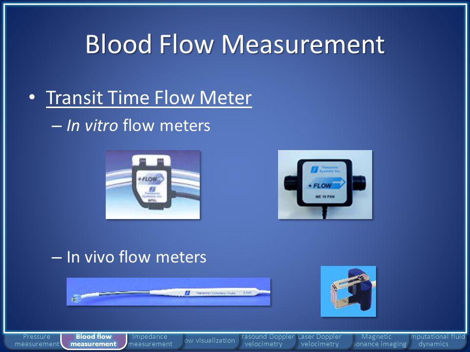 Blood Flow Measurement