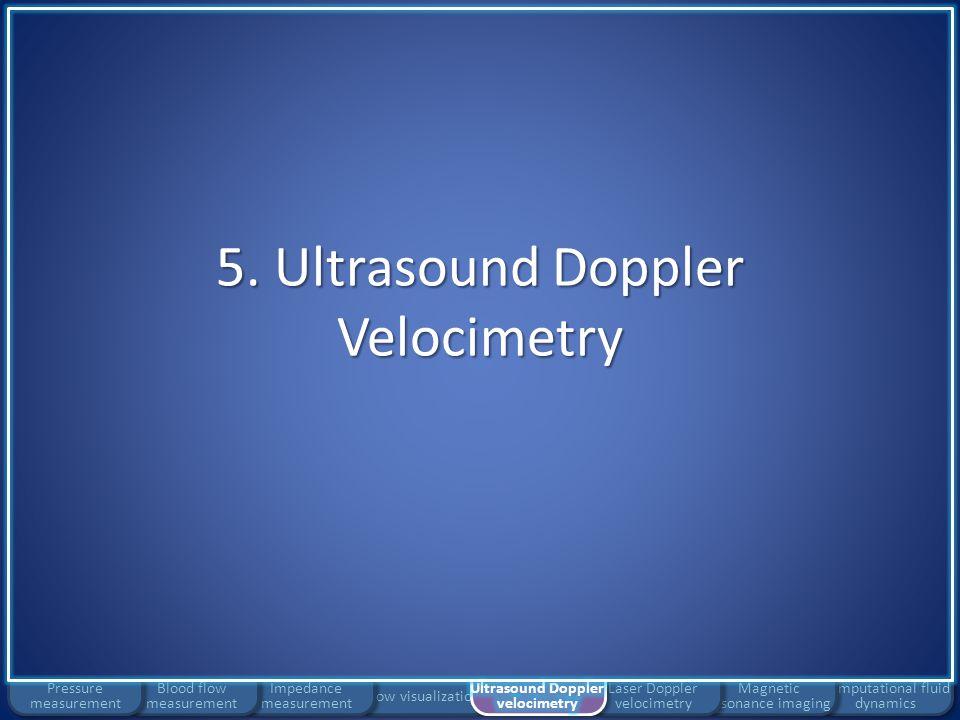 5. Ultrasound Doppler Velocimetry