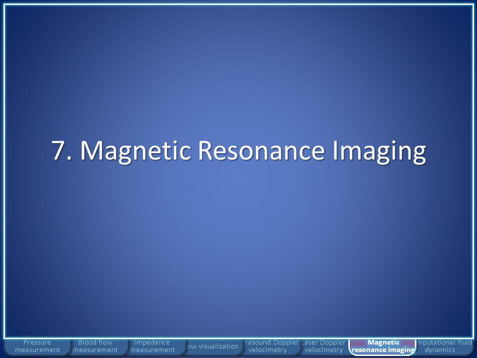 7. Magnetic Resonance Imaging