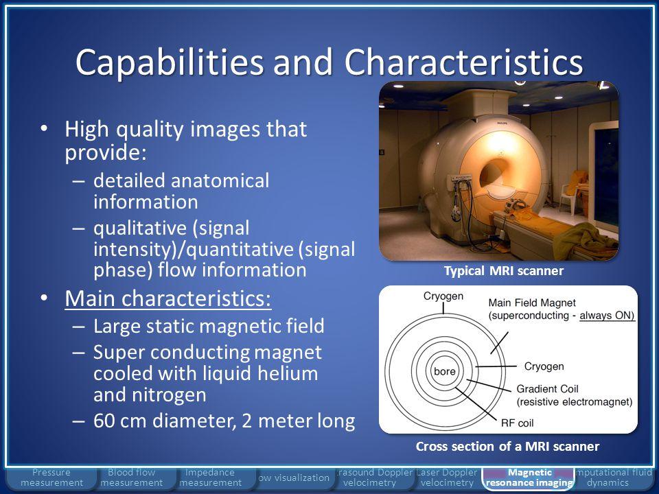 Capabilities and Characteristics