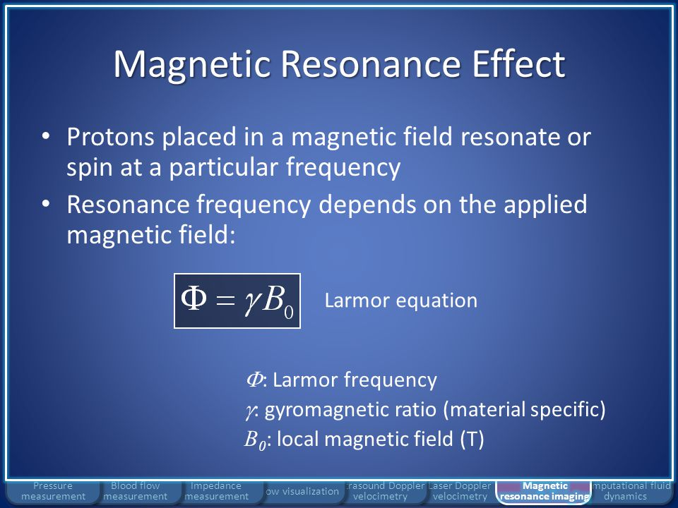Magnetic Resonance Effect