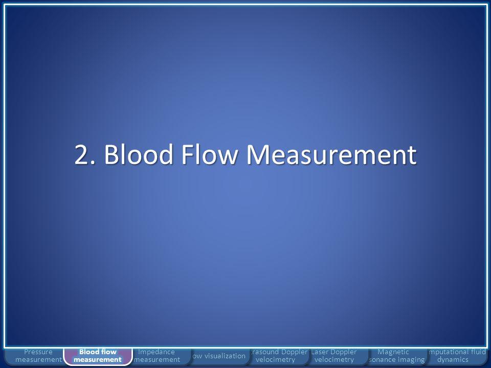 2. Blood Flow Measurement