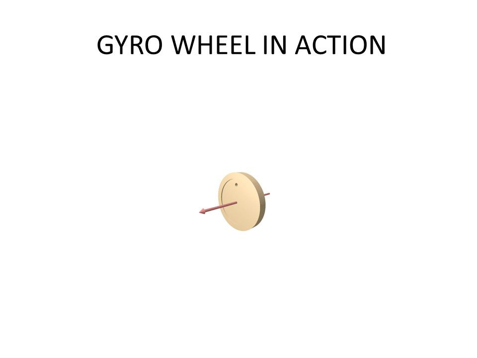 GYRO WHEEL IN ACTION