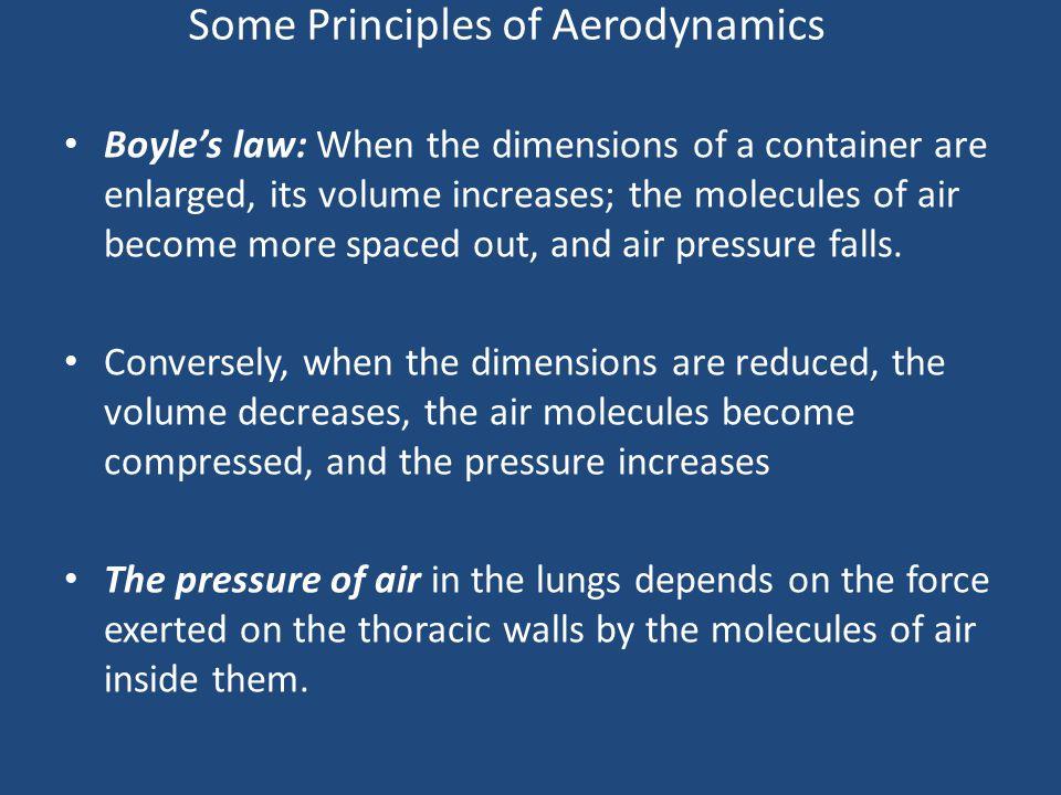 Some Principles of Aerodynamics