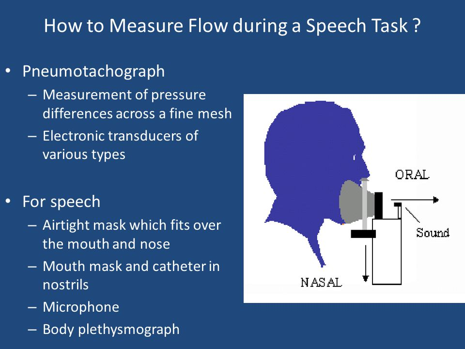 How to Measure Flow during a Speech Task