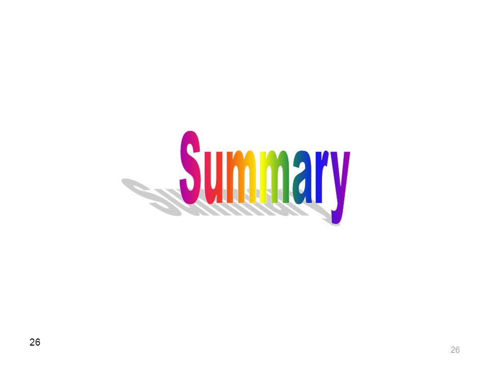 Summary 26 26