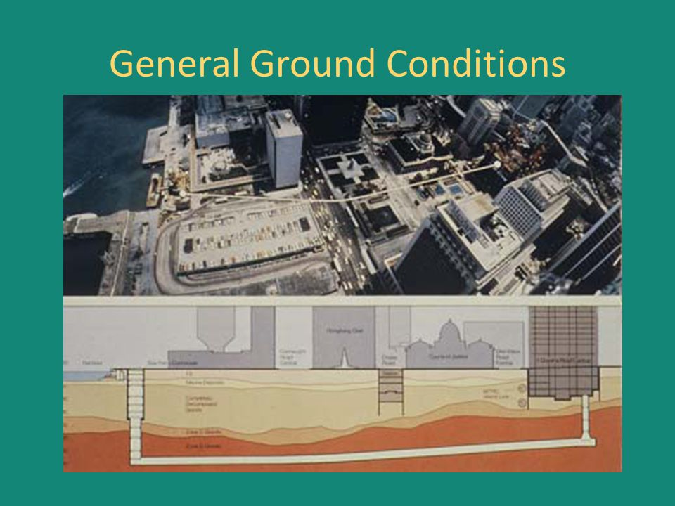 General Ground Conditions