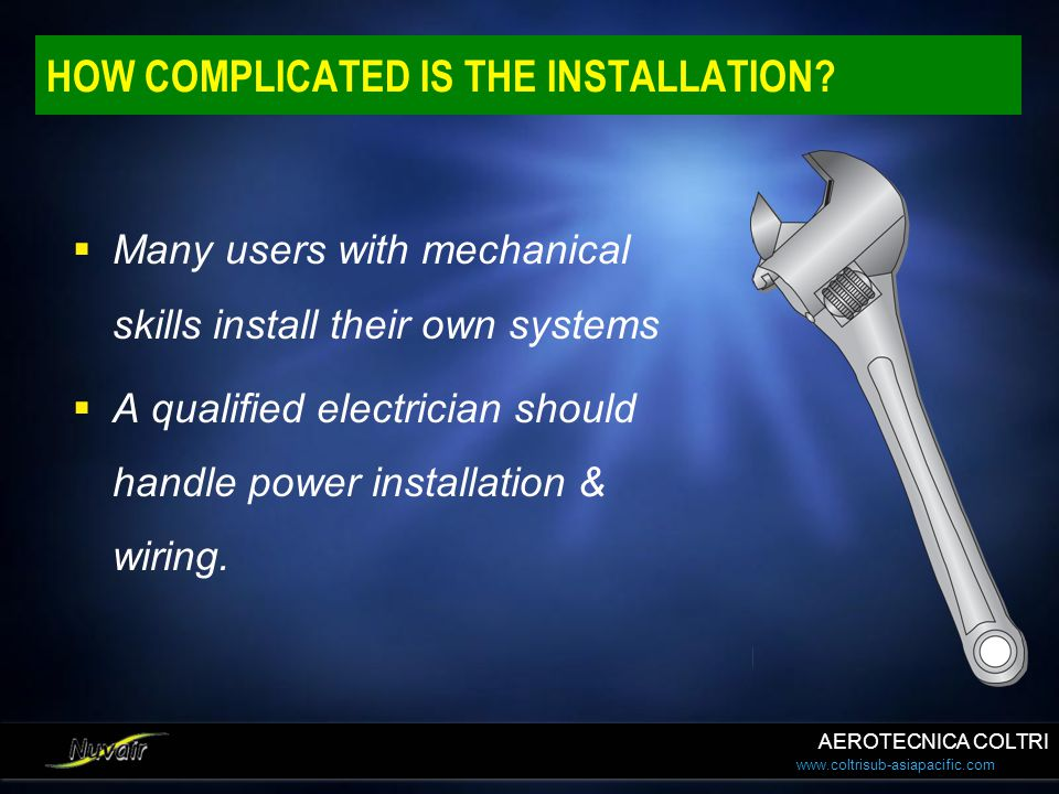 HOW COMPLICATED IS THE INSTALLATION