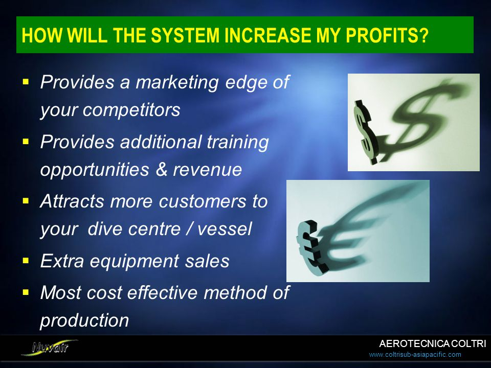 HOW WILL THE SYSTEM INCREASE MY PROFITS