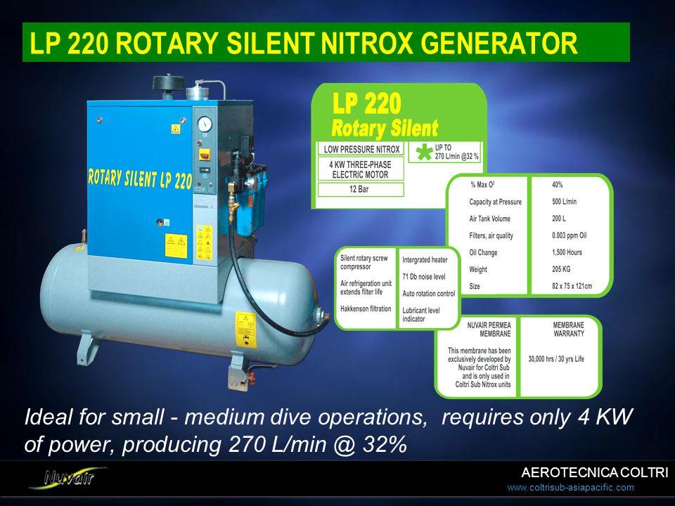 LP 220 ROTARY SILENT NITROX GENERATOR