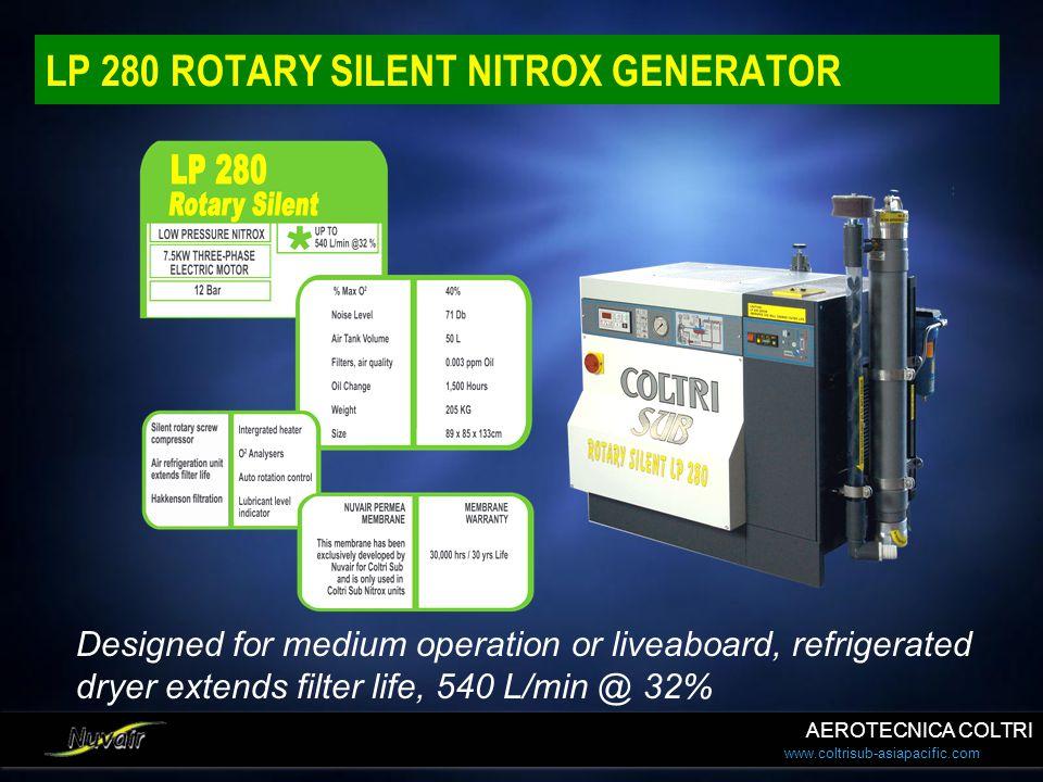 LP 280 ROTARY SILENT NITROX GENERATOR
