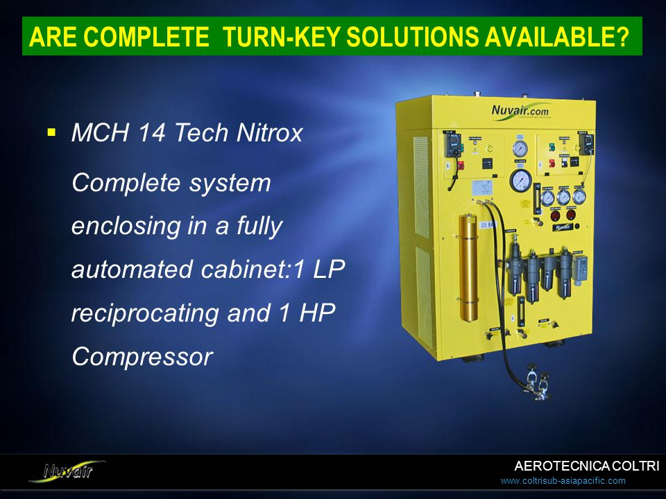 ARE COMPLETE TURN-KEY SOLUTIONS AVAILABLE