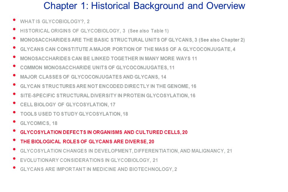 Chapter 1: Historical Background and Overview