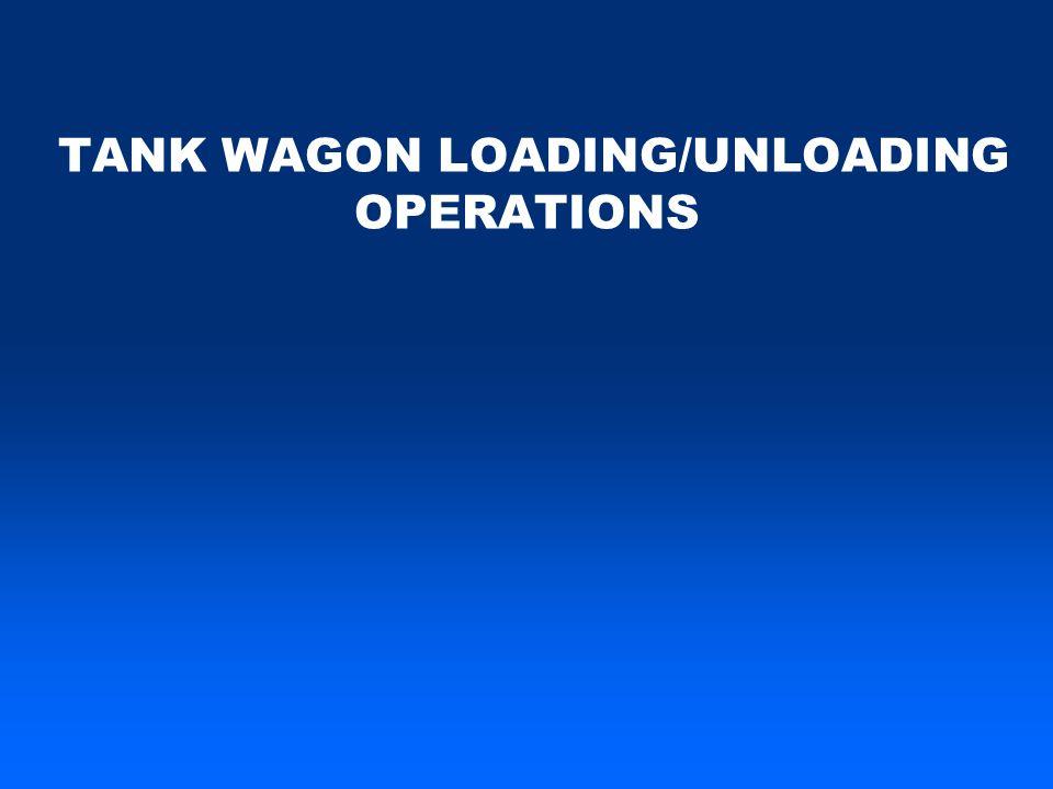 TANK WAGON LOADING/UNLOADING OPERATIONS