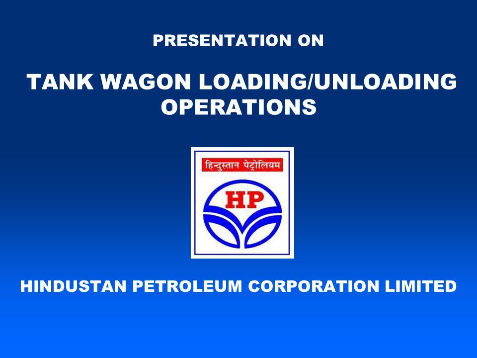 PRESENTATION ON TANK WAGON LOADING/UNLOADING OPERATIONS