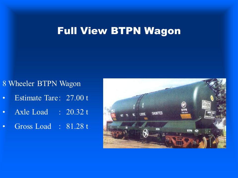 Full View BTPN Wagon 8 Wheeler BTPN Wagon Estimate Tare : 27.00 t