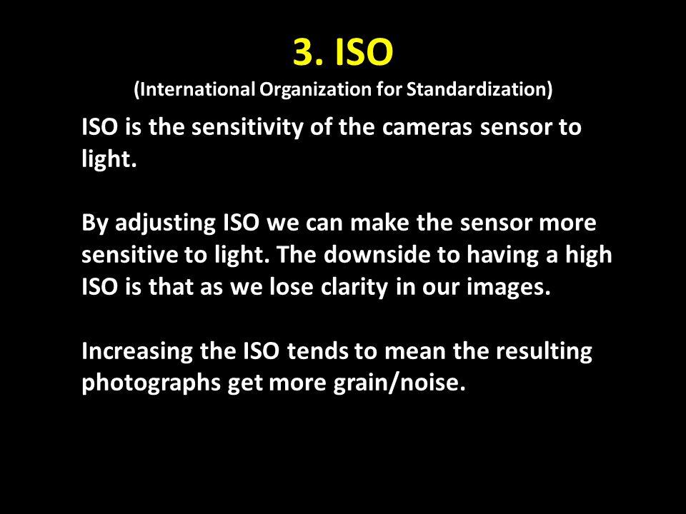 3. ISO (International Organization for Standardization)