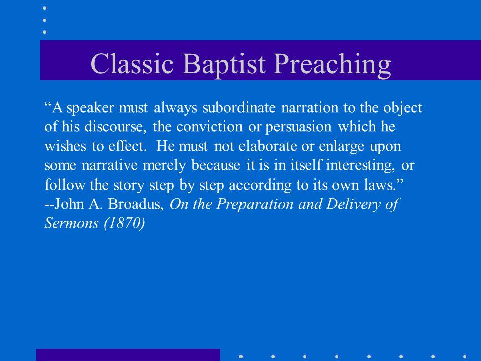 Classic Baptist Preaching