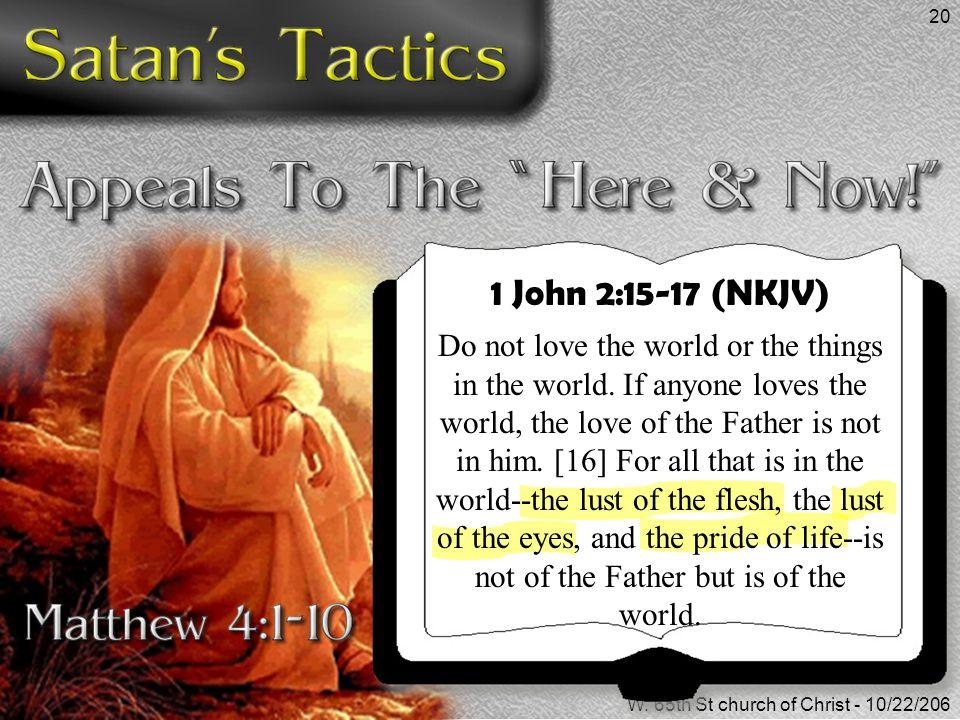 1 John 2:15-17 (NKJV)