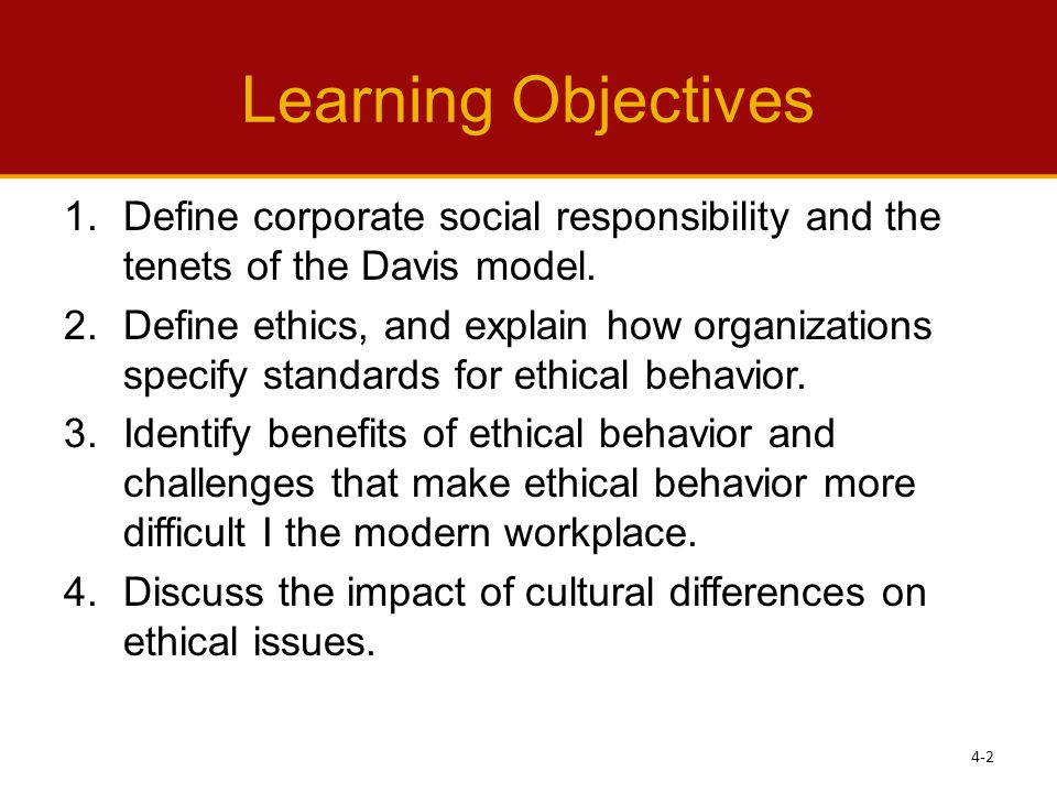 ethical behavior and social responsibility of Chapter 6 ethical behavior and social responsibility planning ahead—study questions what ethics and social responsibility play a central role in managers.
