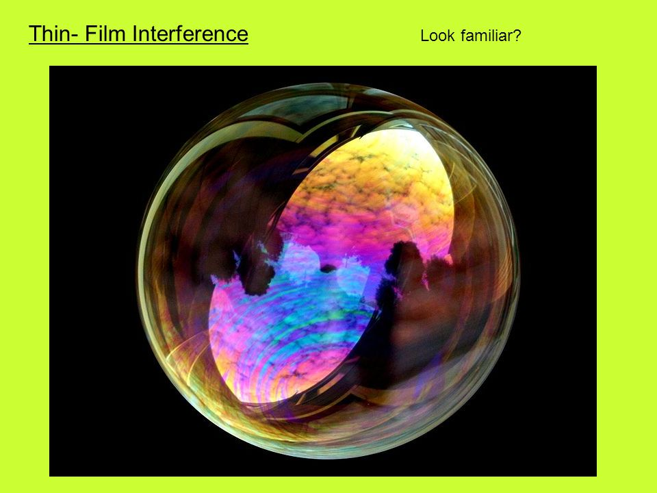 Thin- Film Interference