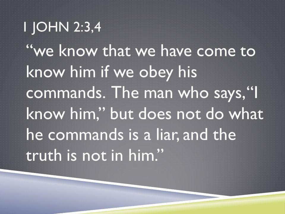 1 John 2:3,4