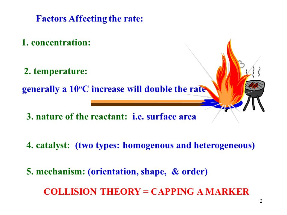 Factors Affecting the rate: