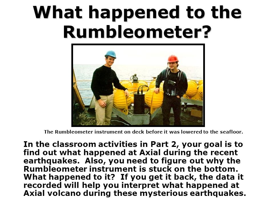 What happened to the Rumbleometer