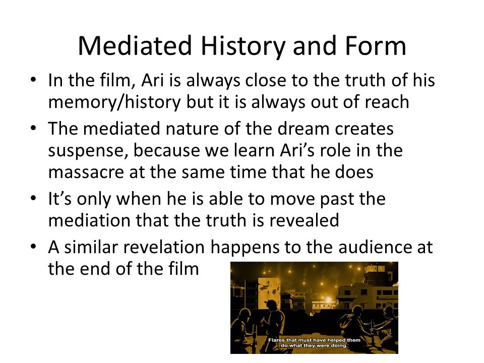 Mediated History and Form
