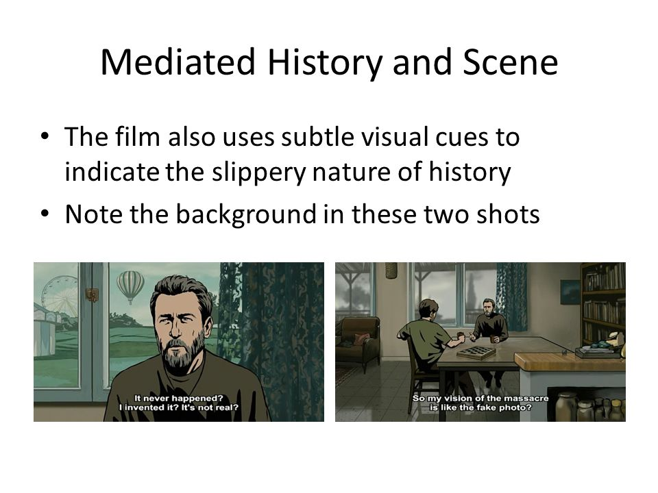 Mediated History and Scene