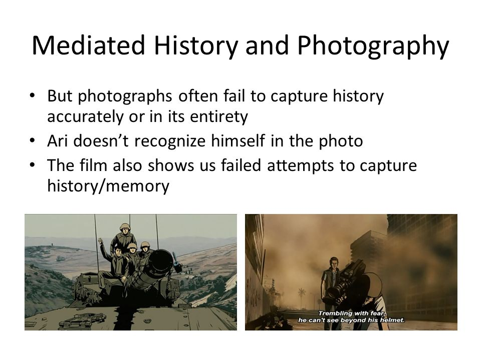 Mediated History and Photography