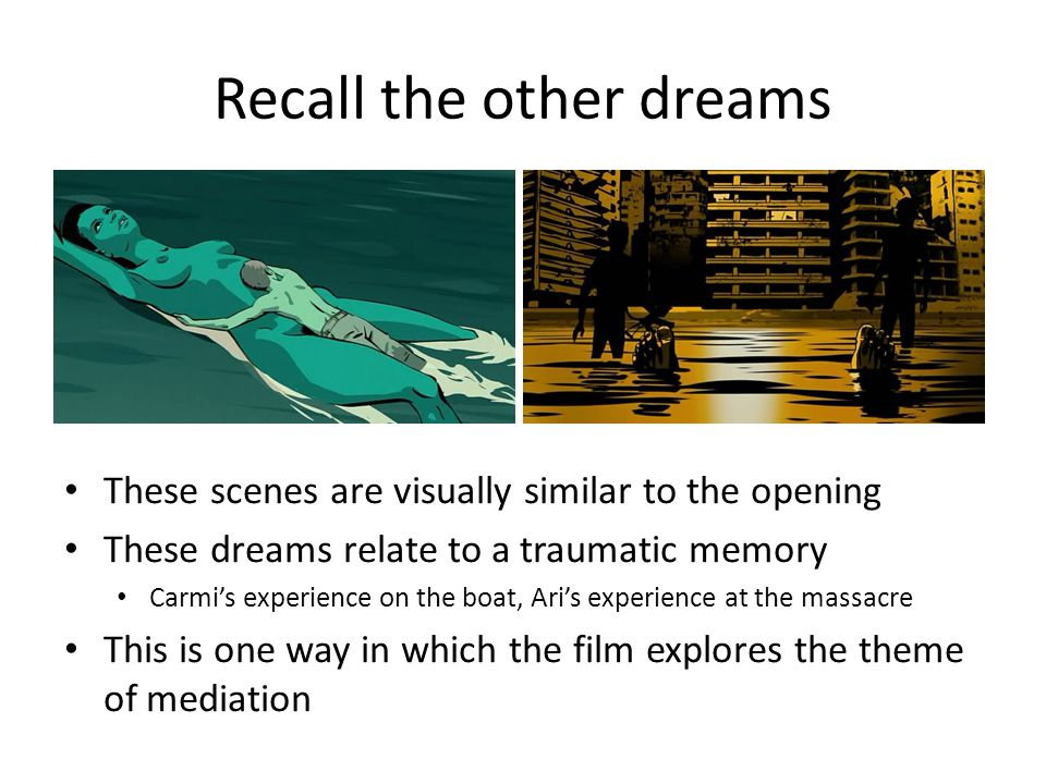 Recall the other dreams