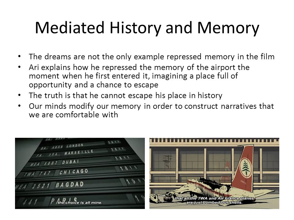 Mediated History and Memory
