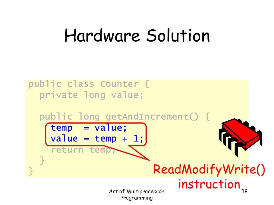 Art of Multiprocessor Programming