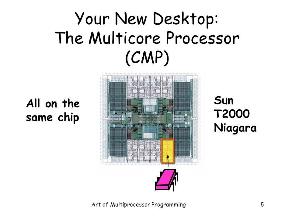 Your New Desktop: The Multicore Processor (CMP)