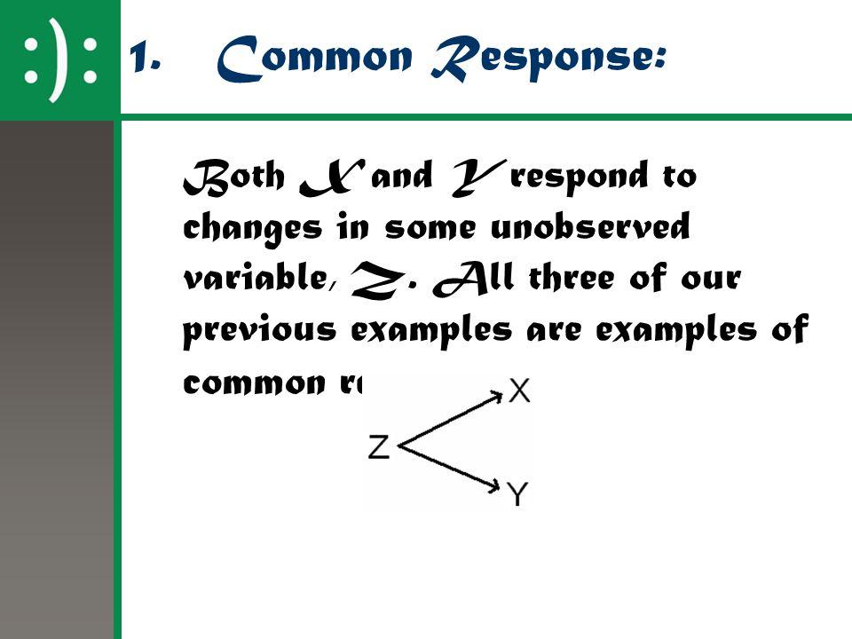 1. Common Response: