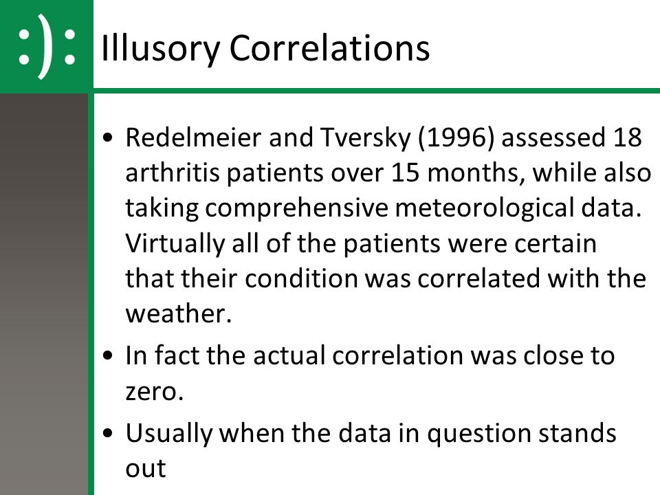 Illusory Correlations