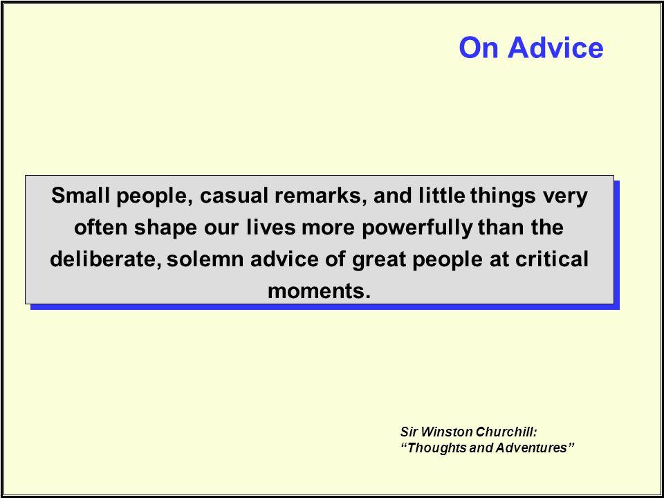 On Advice