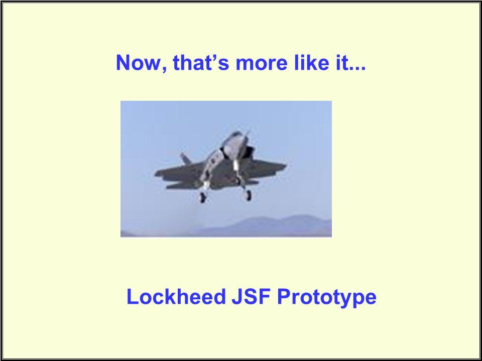 Lockheed JSF Prototype