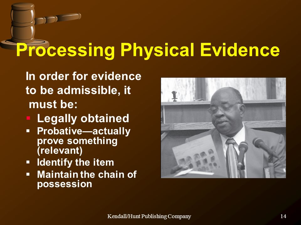 Processing Physical Evidence