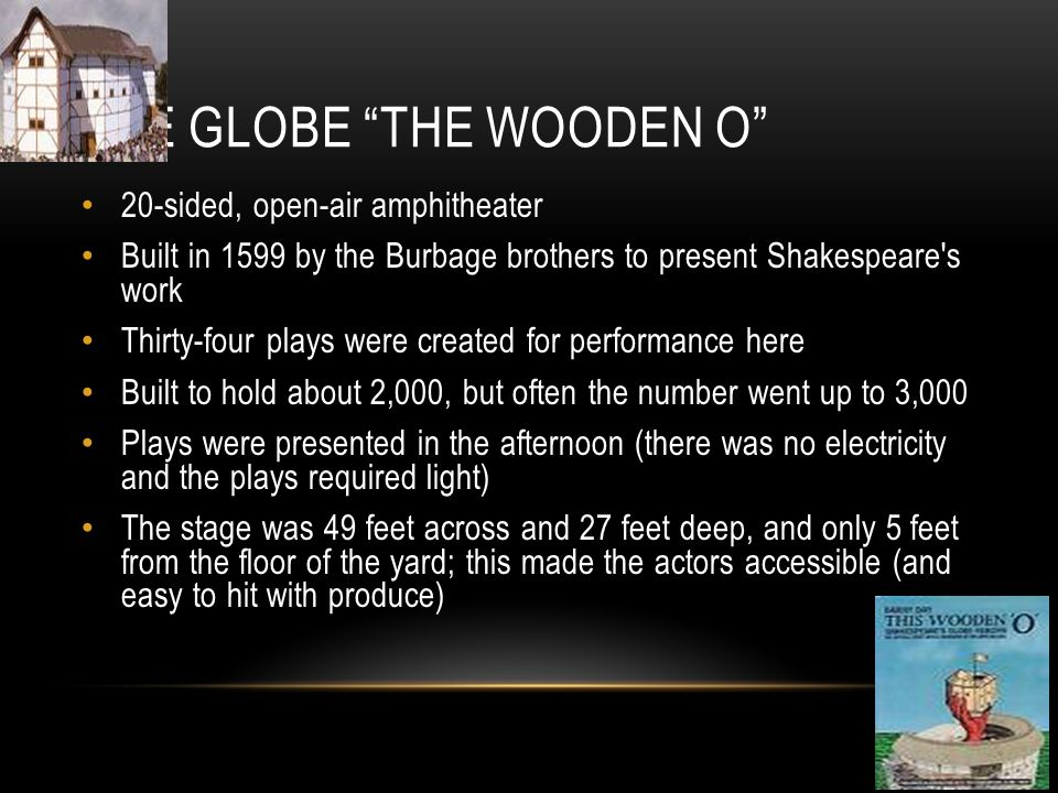 The Globe The Wooden O