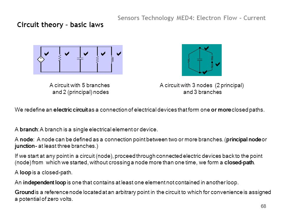 Circuit theory – basic laws