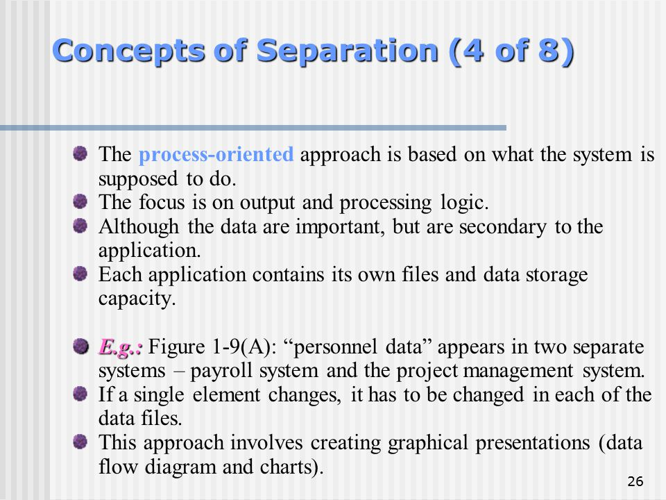 Concepts of Separation (4 of 8)
