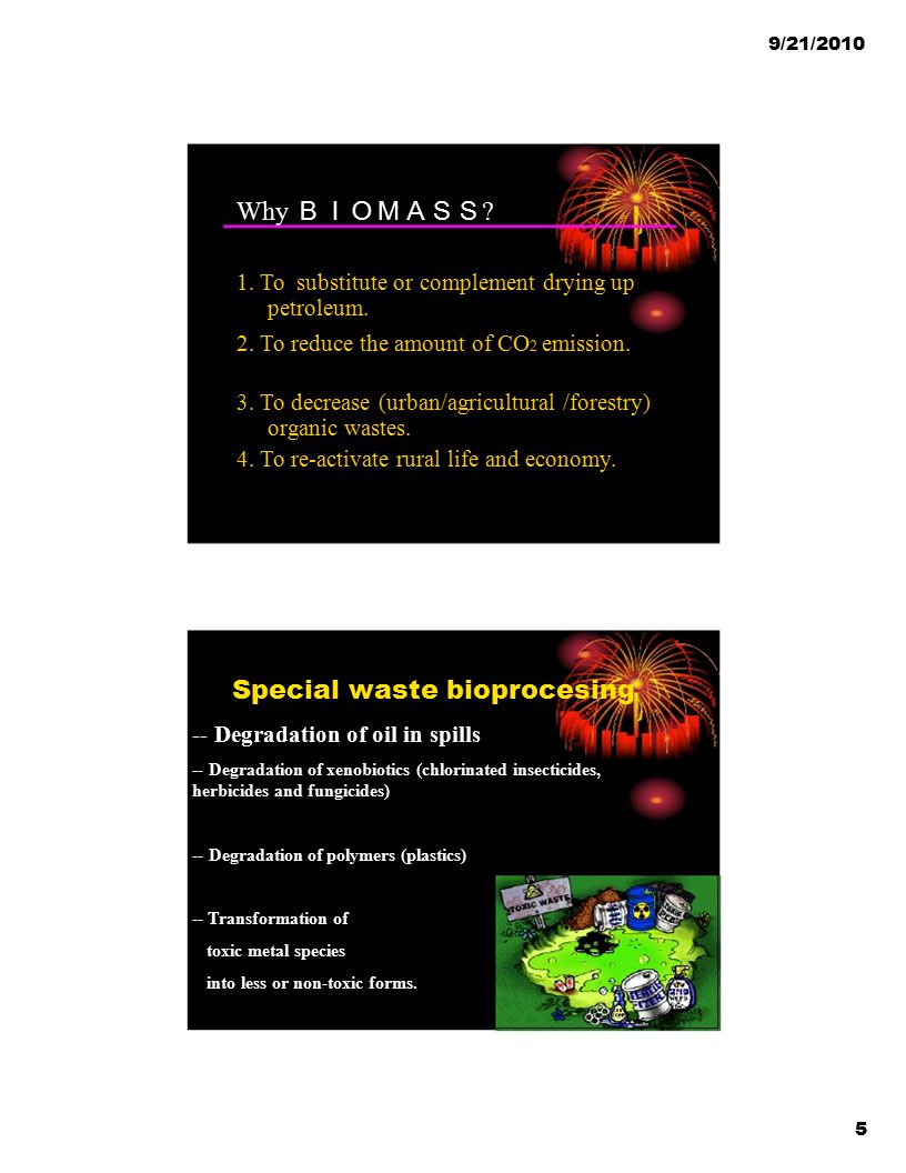 Special waste bioprocesing