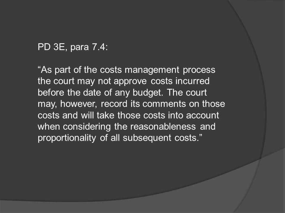 PD 3E, para 7.4: