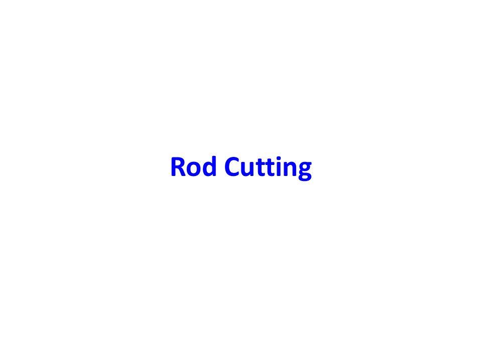 Rod Cutting