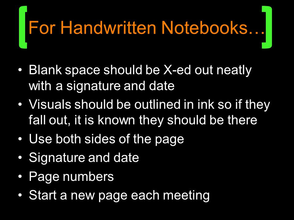 For Handwritten Notebooks…