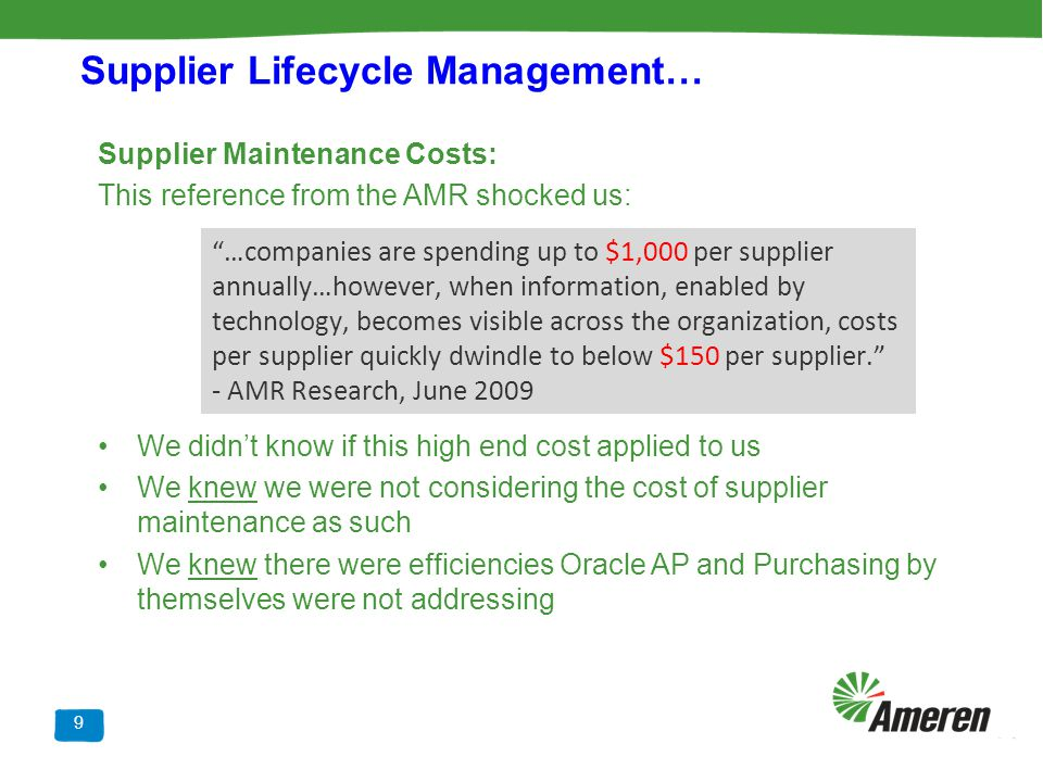 Supplier Lifecycle Management…