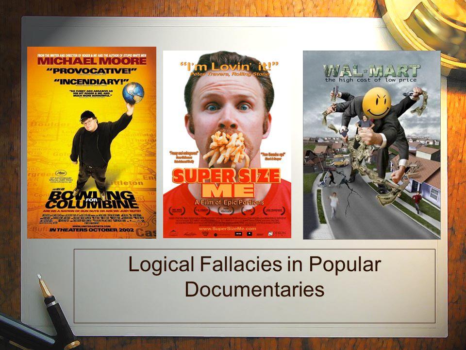 Logical Fallacies in Popular Documentaries