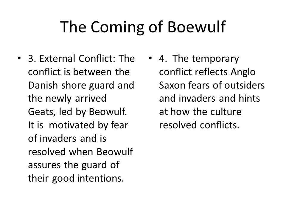 The Coming of Boewulf